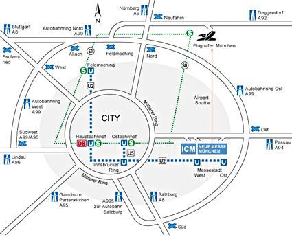 The munich show travel accommodation map sketch ccuart Images